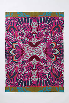 Mirrored Plumes Rug