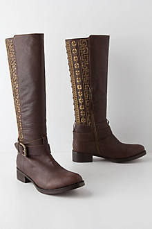 Handbeaded Anoia Boots
