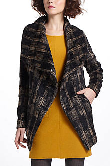 Modernist Shawl-Collar Coat