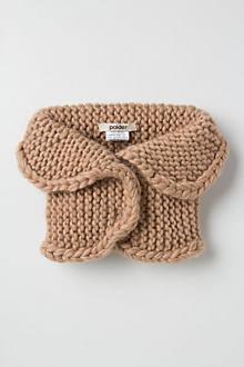 Tawny Knit Collar