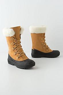 Shearling-Lined Bantam Boots