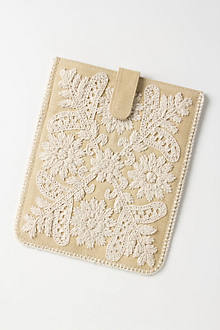 Embroidered Fields iPad Cover