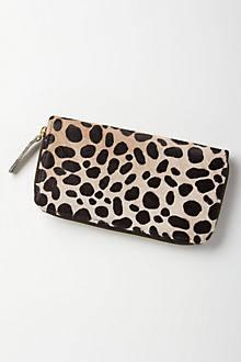 Multi-Purpose Leopard Wallet
