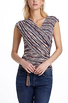 Dianthe Cross-Front Top