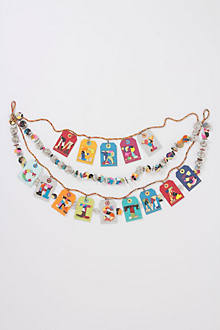 Cozy Collage Christmas Garland