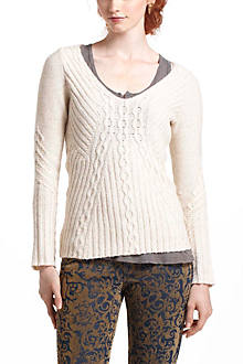 Revelry Cabled Sweater