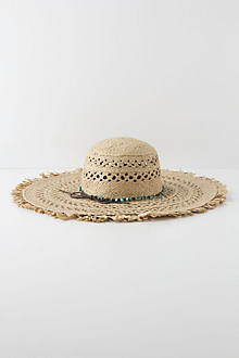 Bead-Band Floppy Hat