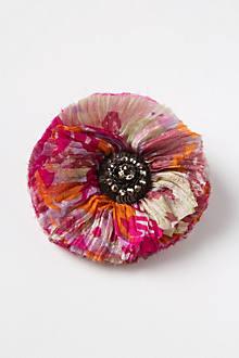 Jeweled Camellia Clip