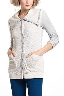 Sagittate Sweater Cardigan