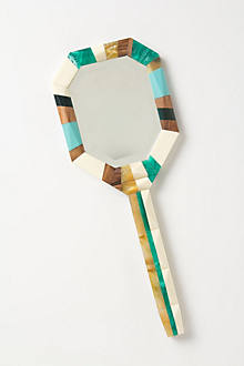 Mosaic Hand Mirror