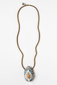Jeweled Plumes Necklace