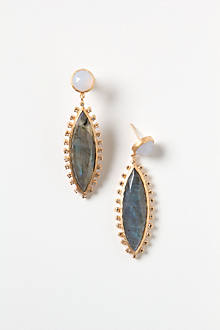 Jeweled Navette Drops