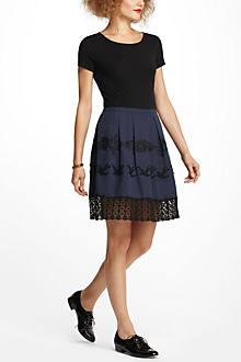 Flyaway Embroidered Dress