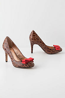 Darra Croc Pumps