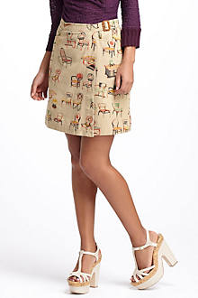 Chairs Canvas Wrap Skirt