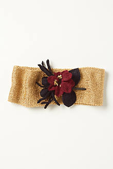 Gold & Berry Earband