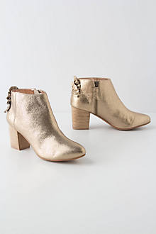 Fanned Shine Booties