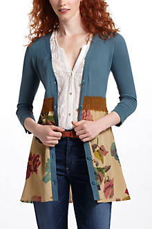 Foliage Empire Cardigan