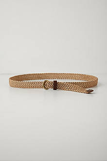 Shimmered Skinny Belt