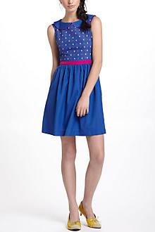 Gamine Collared Dress