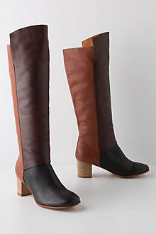 Colorblocked Boots