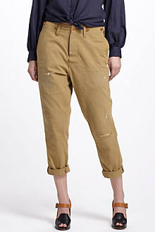 Workwear Trousers With Repair