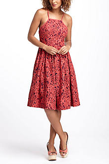 Fit-And-Flare Garden Dress