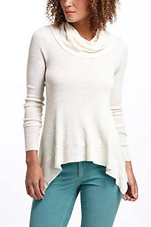 Ribbed Asymmetric Cowlneck