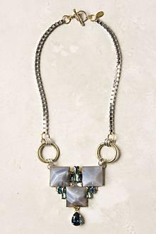 Terrestrial Pyramid Necklace