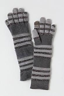 Stripened Glisten Gloves