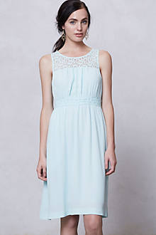 Lace-Yoke Dress