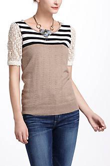 Striped Galao Pullover