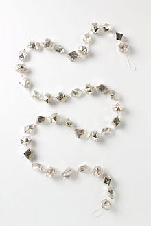 Glass Diamonds Garland