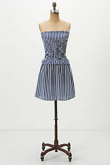 Capri Stripe Mini Dress