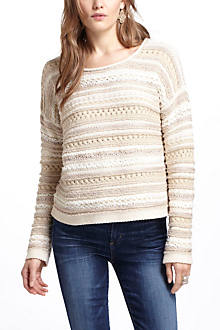 Textured Sheen Sweater