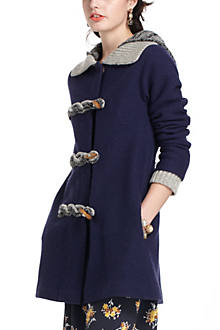 Toggled Basel Sweatercoat