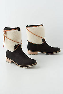 Sierra Shearling Booties
