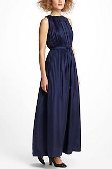 Leizu Silk Maxi Dress