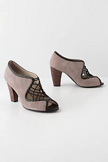Crossed Lilac Heels