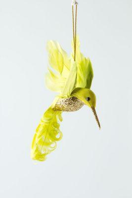 Glitter Drop Hummingbird