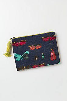 Day-Fly Beaded Pouch