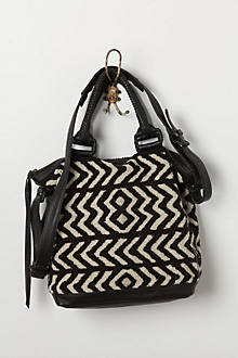 Chevron Tapestry Satchel