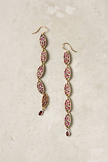 Pave Ruby Earrings