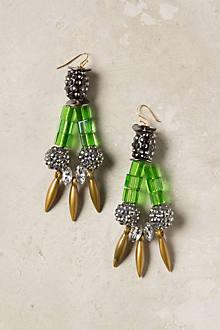 Glinting Columns Earrings