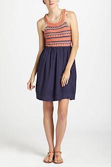 Braided Citrus Dress