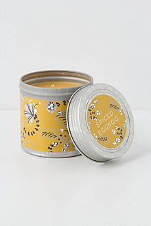 Chalet Candle Tin