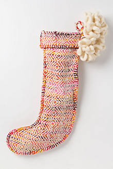 Loomed & Looped Stocking