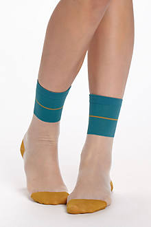 Sheer Colorpop Socks