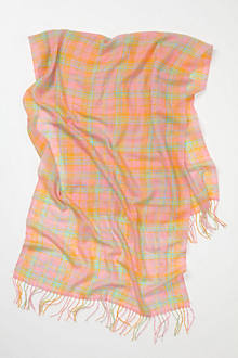 Citrus Plaid Scarf