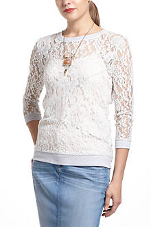 Patchwork Lace Pullover